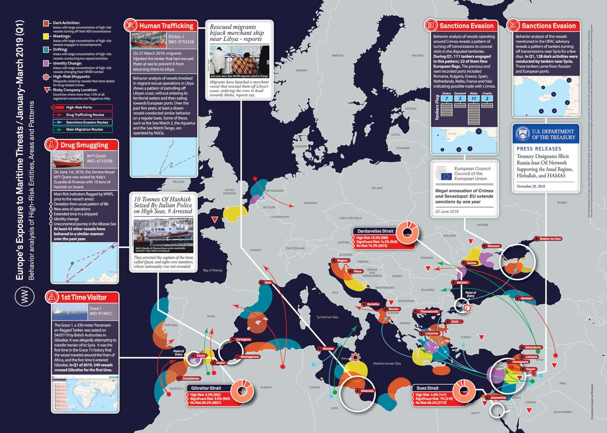 Europe Threat Map